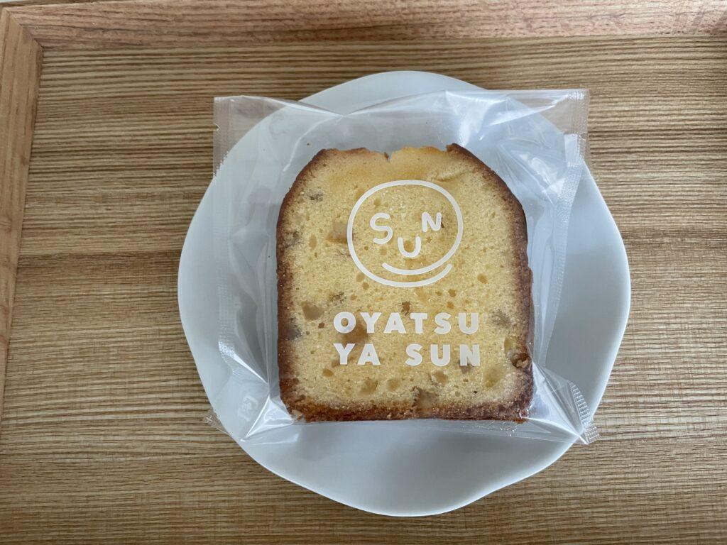 はちみつレモンのパウンドケーキ